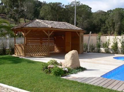 Abri de jardin aménagement extérieur